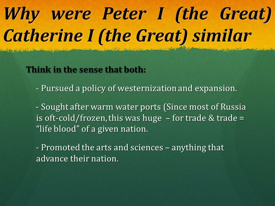 Russia Frigid region Frigid region Seeking access to warm water ports.