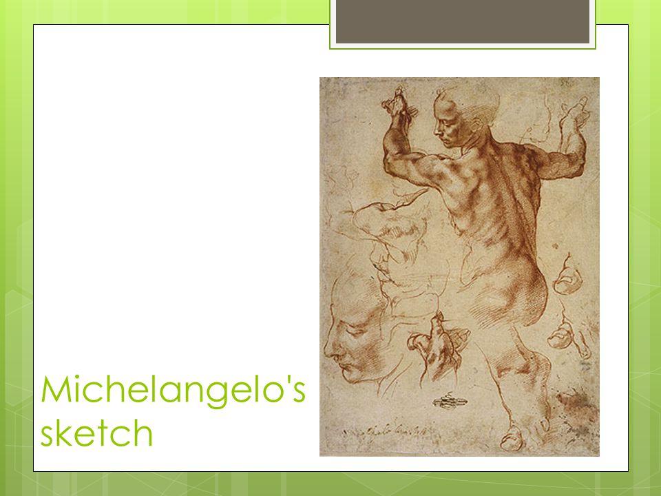 Michelangelo's sketch