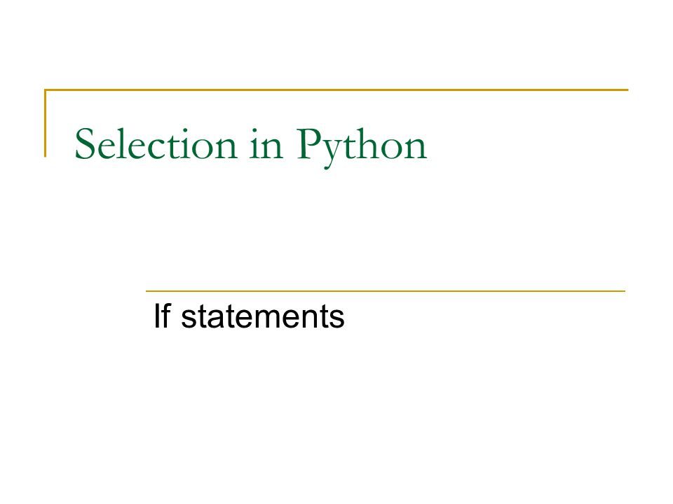 Precedence of operators See http://docs.python.org/py3k/reference/expres sions.html#evaluation-order http://docs.python.org/py3k/reference/expres sions.html#evaluation-order Note that this table is upside down , lowest precedence is on top!