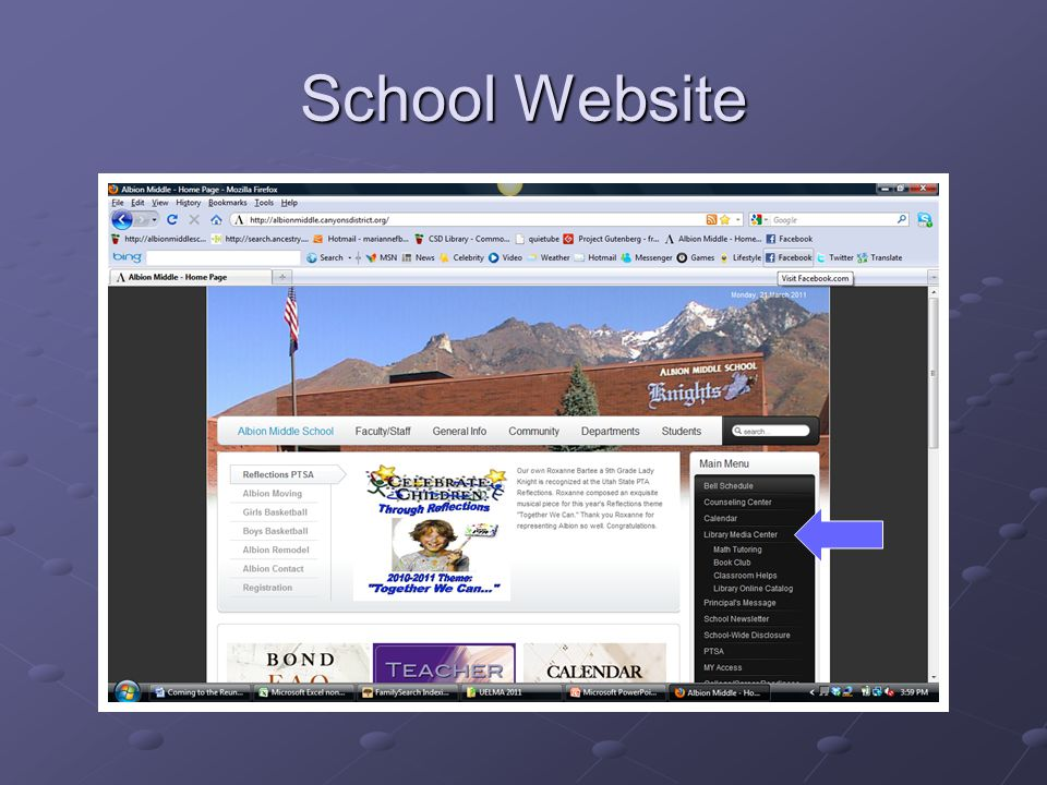 School Website