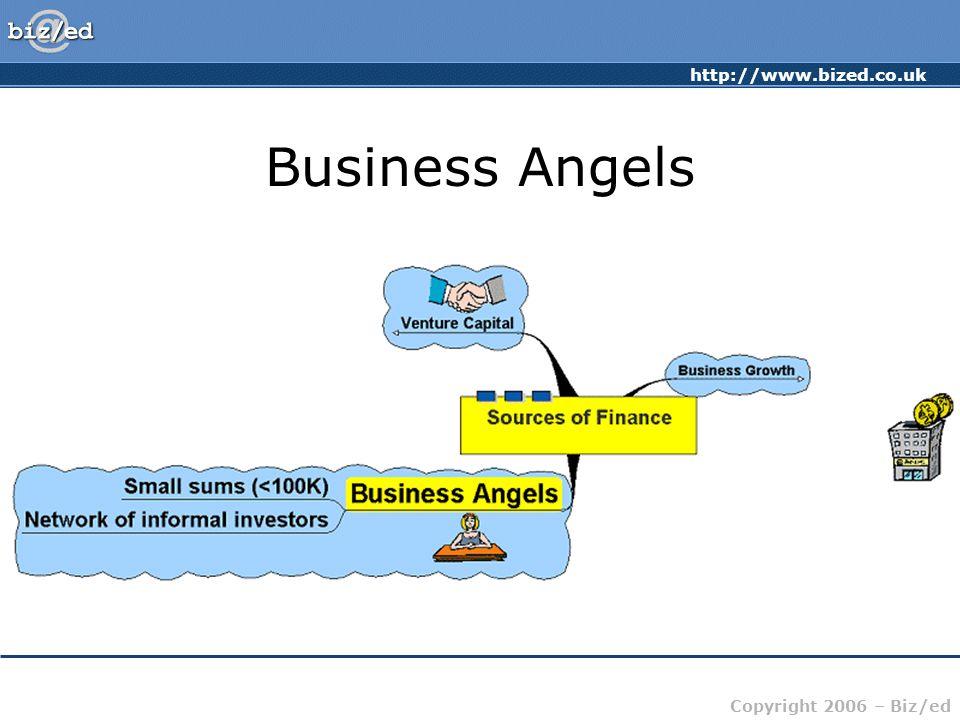 http://www.bized.co.uk Copyright 2006 – Biz/ed Business Angels