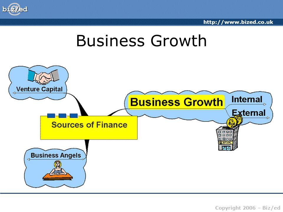 http://www.bized.co.uk Copyright 2006 – Biz/ed Business Growth