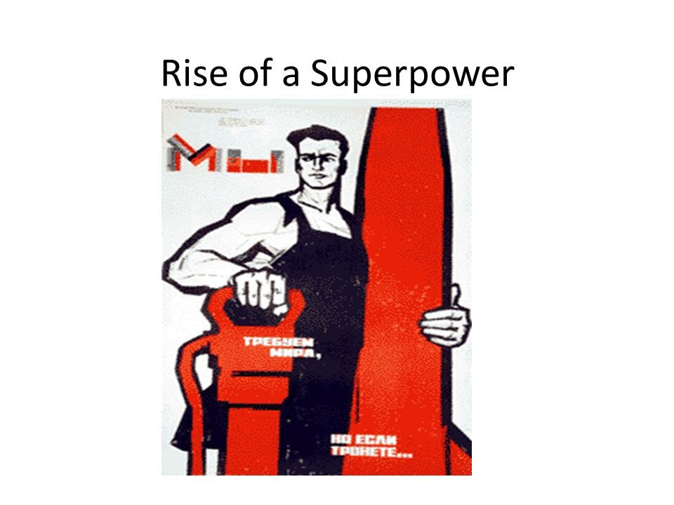 Rise of a Superpower