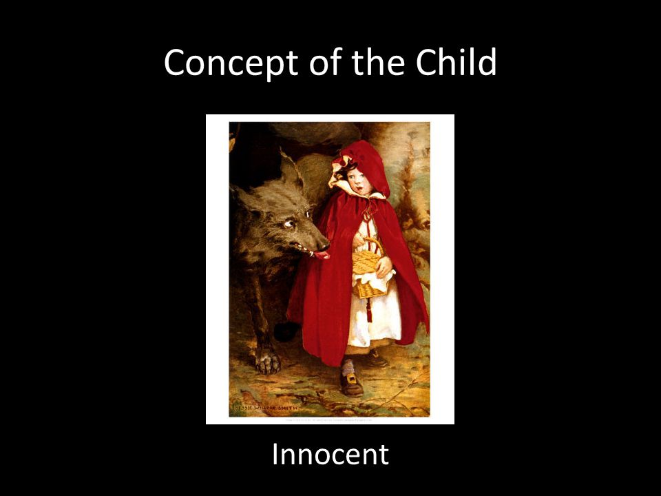 Concept of the Child Innocent