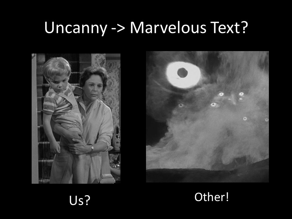 Uncanny -> Marvelous Text Us Other!