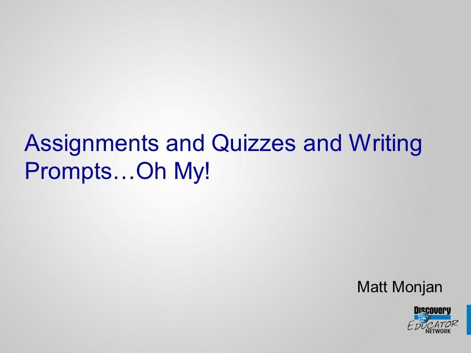 Creating a Writing Prompt Log into www.unitedstreaming.comwww.unitedstreaming.com Click on the Teacher Center link matt.monjan *********