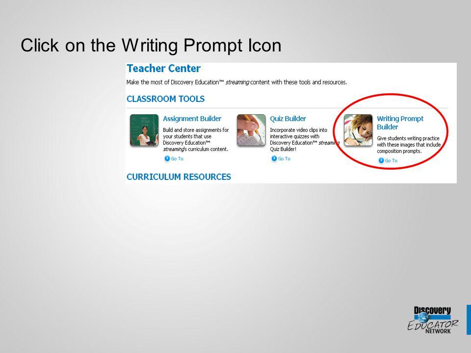 Click on the Quiz Builder Icon