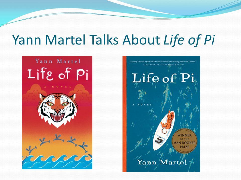 Yann Martel Talks About Life of Pi