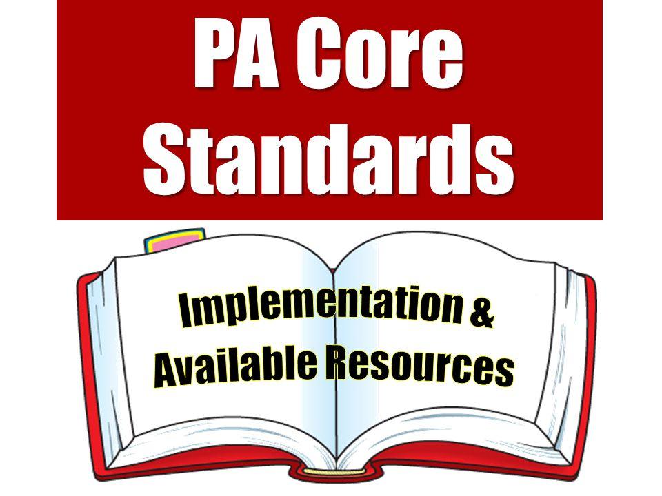 PA Core Standards