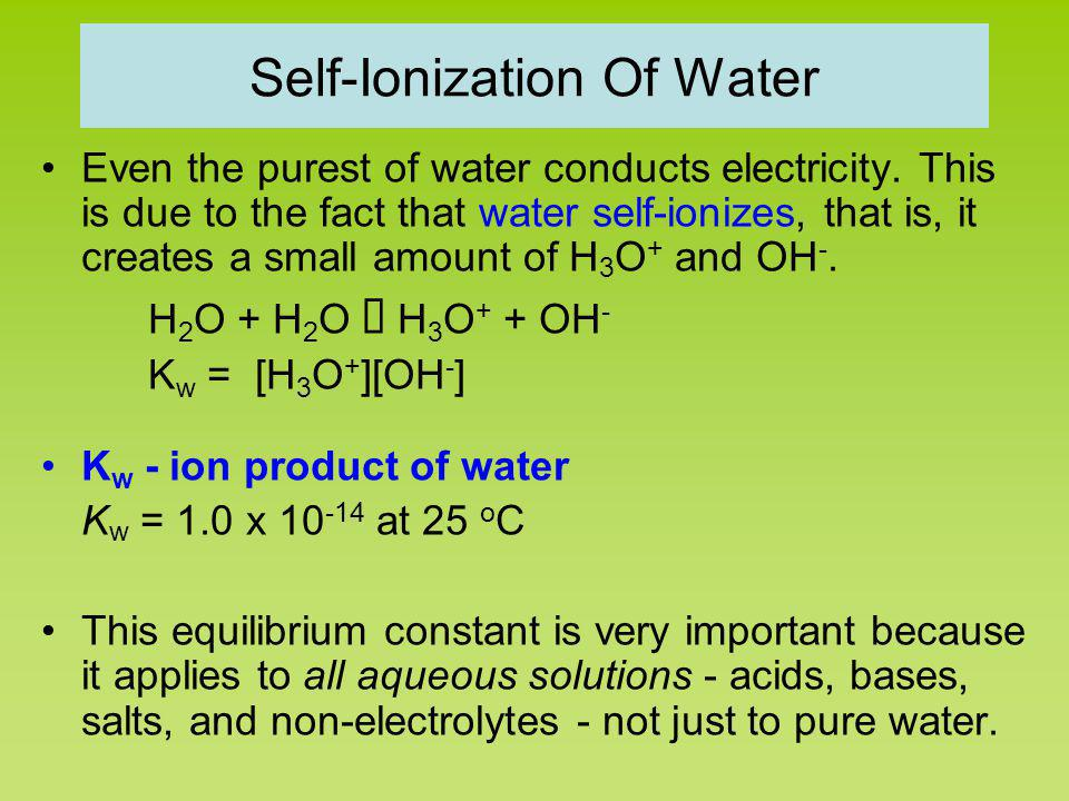 pH pH = -log [H + ] Kelter, Carr, Scott, Chemistry A World of Choices 1999, page 285