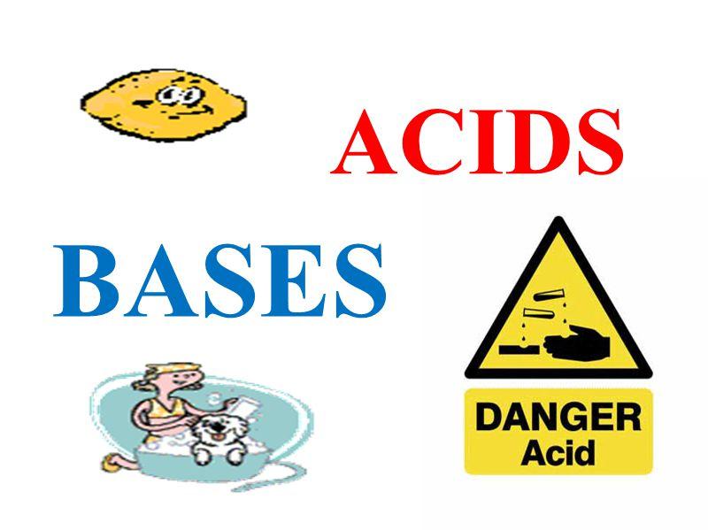 BASES ACIDS
