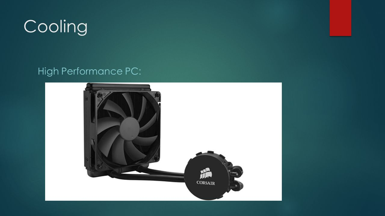 Cooling High Performance PC: