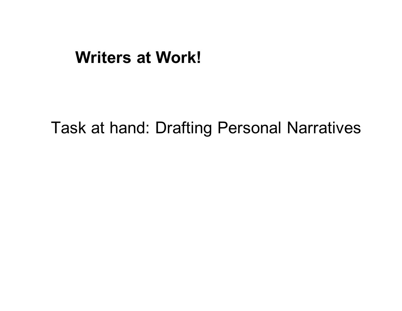 Answer the following question: Did the graphic organizer help you as a writer today.