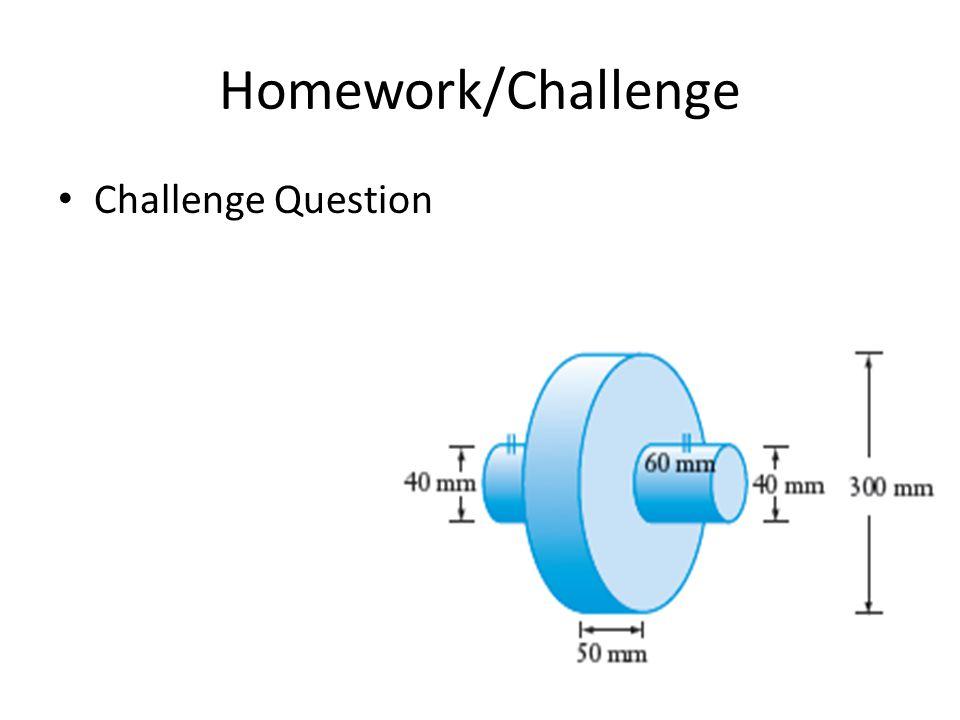 Homework/Challenge Challenge Question