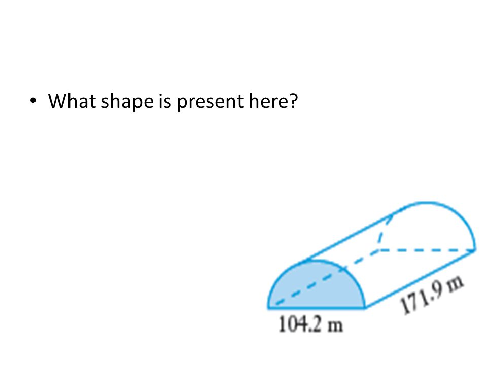 What shape is present here?