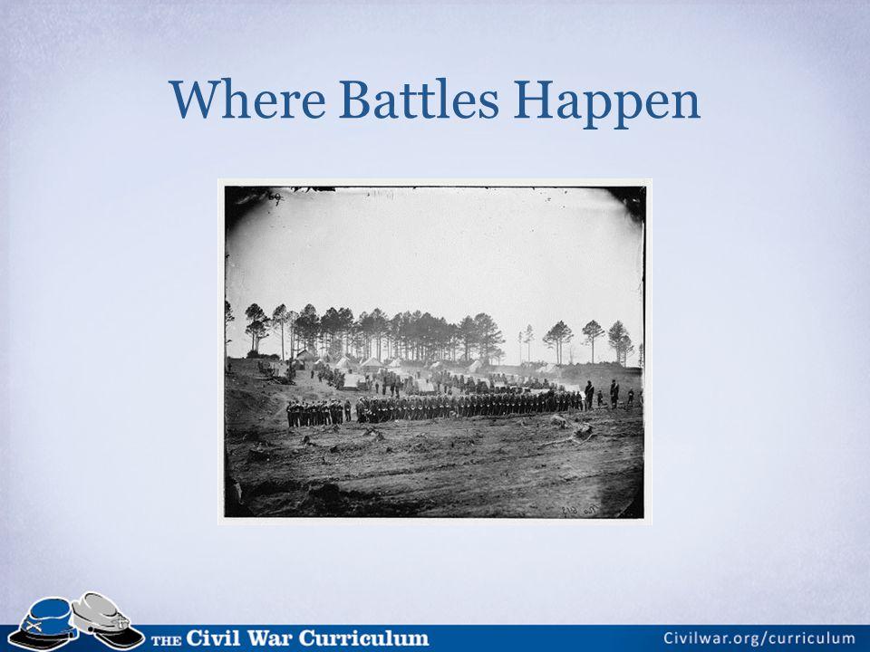 Where Battles Happen