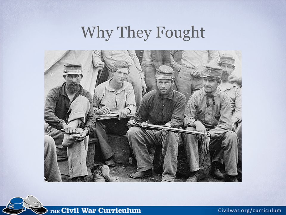 Why They Fought