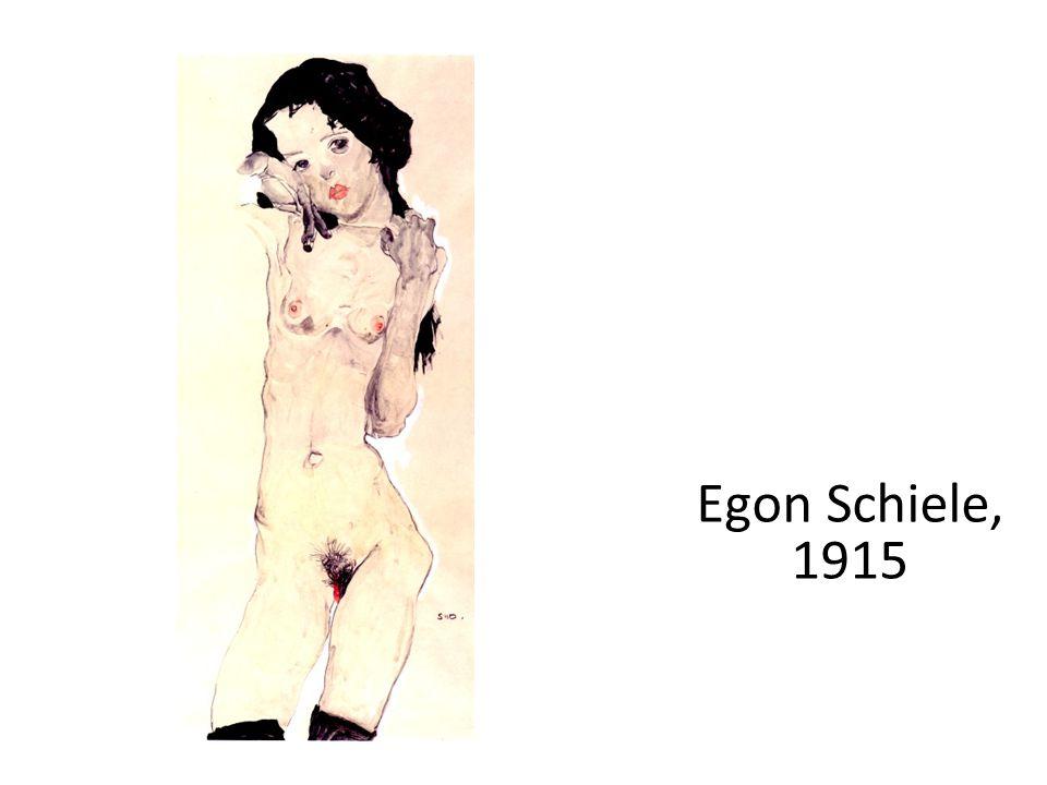 Egon Schiele, 1915