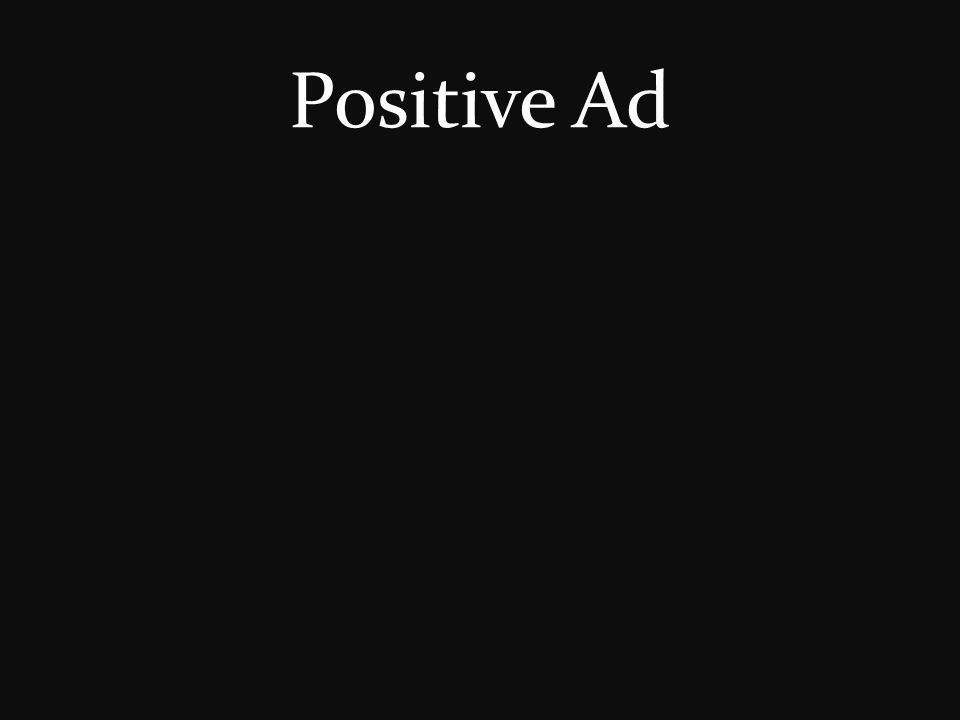 Positive Ad