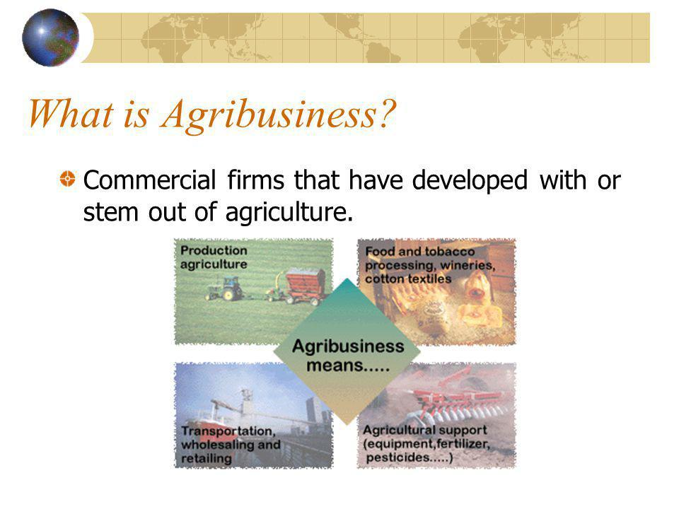 Divisions of Agriculture Agribusiness Agriscience Mechanics Agronomy Animal Science Biotechnology Horticulture Natural Resources