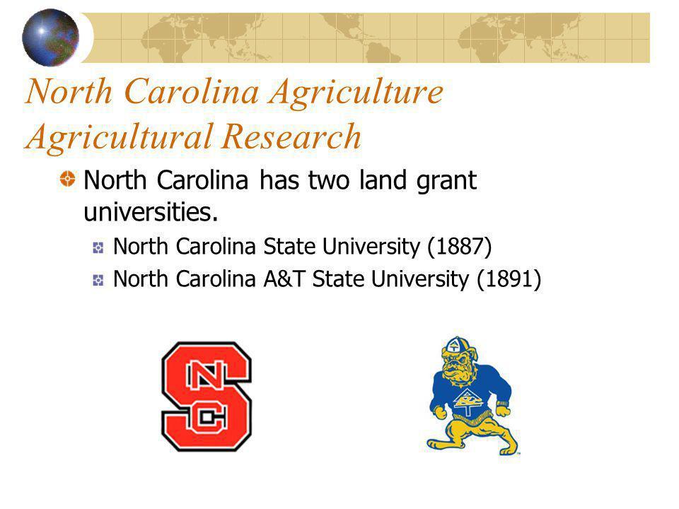 North Carolina Agriculture