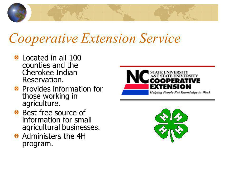 Professional Agricultural Organizations Allow professionals the opportunity to network, learn, and communicate. Provide trade shows and journals to up