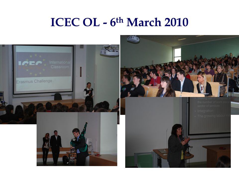 ICEC OL - 6 th March 2010