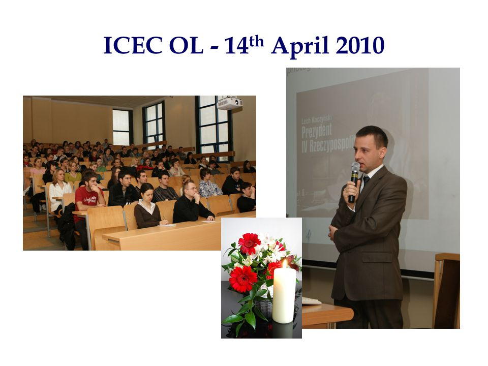 ICEC OL - 14 th April 2010