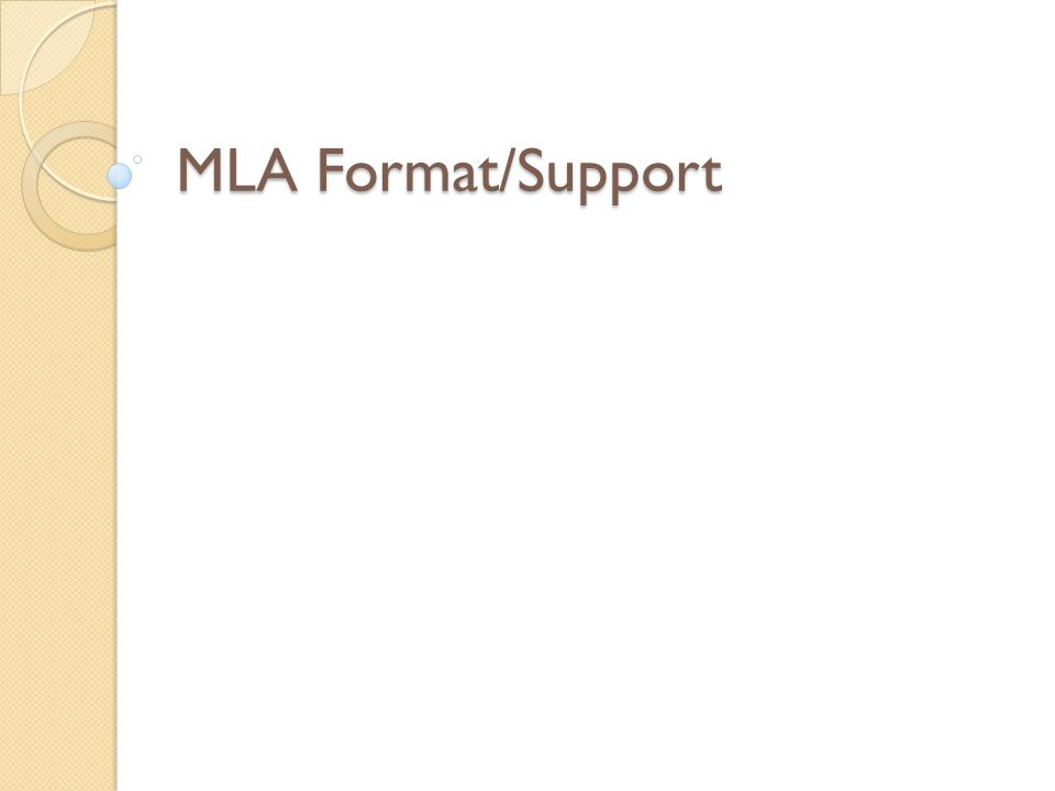MLA FORMAT!!?? CAN I USE FIRST PERSON?
