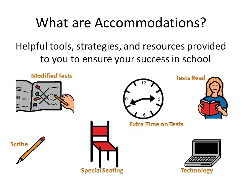 What are Accommodations.