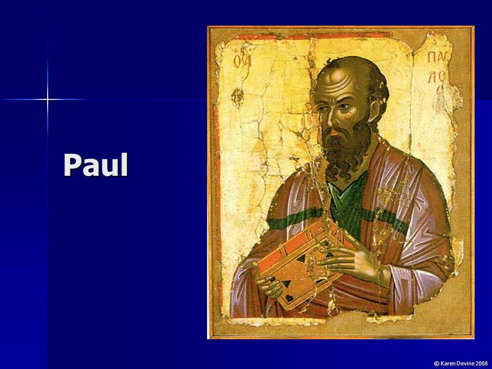 Saul Saul was born in Tarsus circa 10 CE.