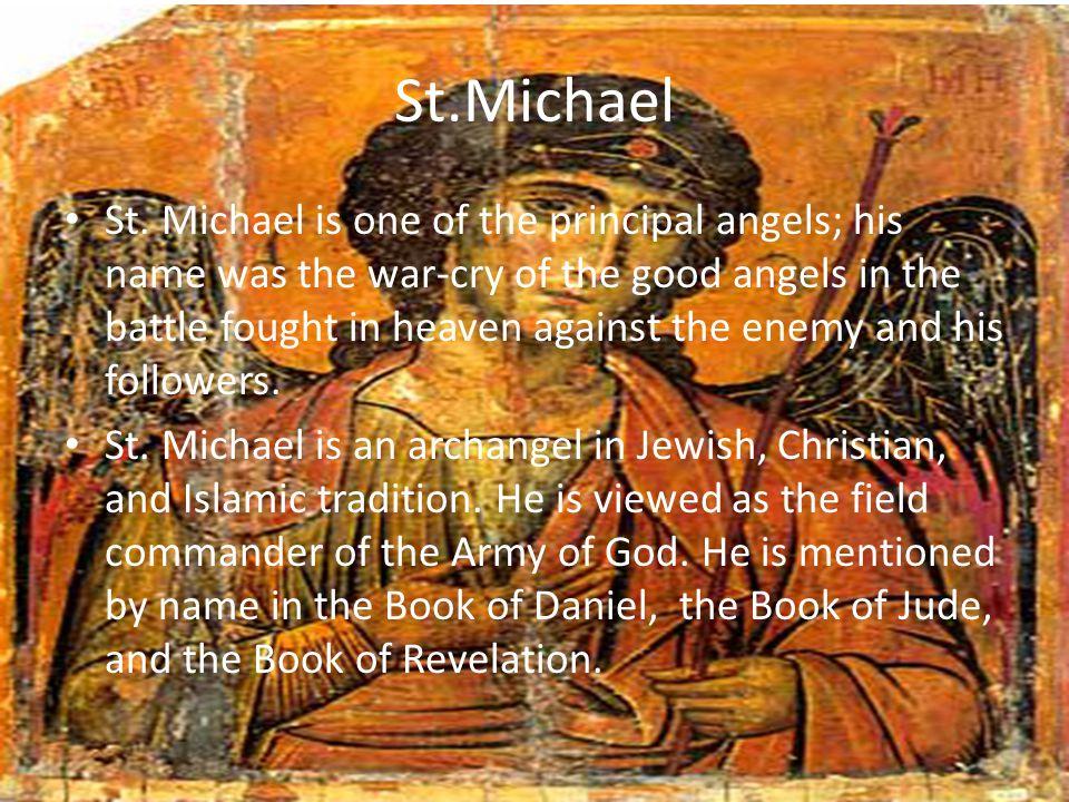 Prayer to St.Michael http://www.youtube.com/watch?v=lLg2YauM uiY http://www.youtube.com/watch?v=lLg2YauM uiY