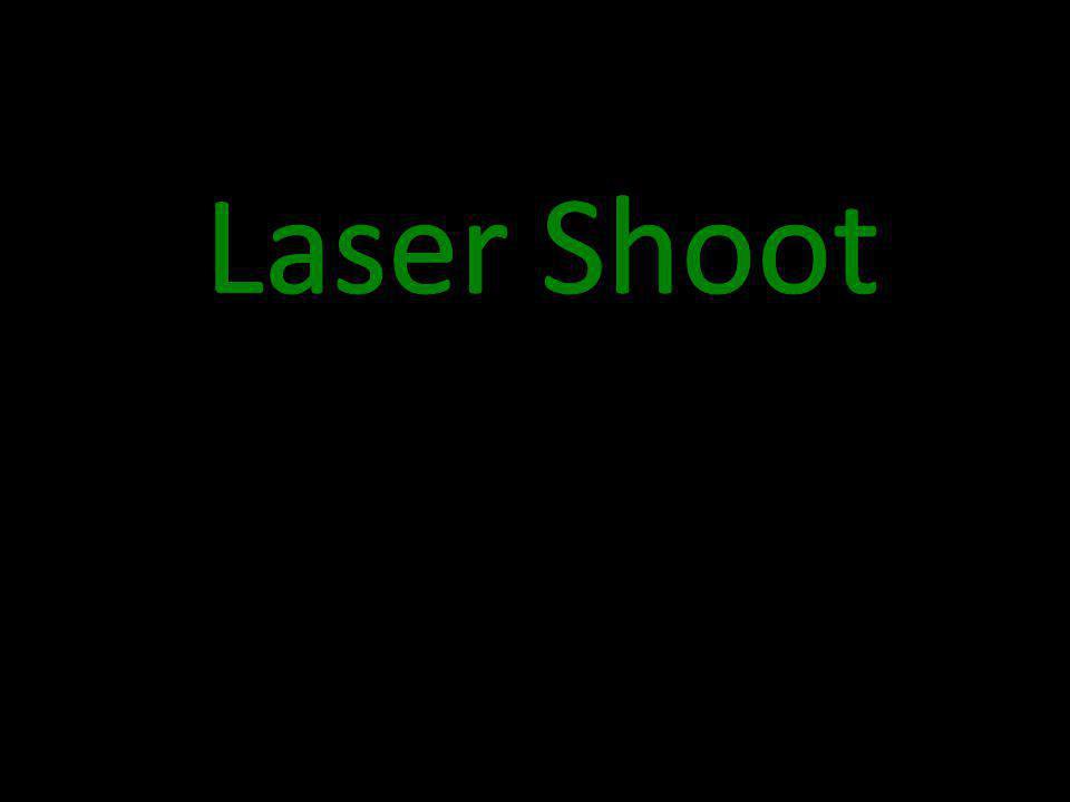 Division B: Target on side of frame Laser Target Mirror
