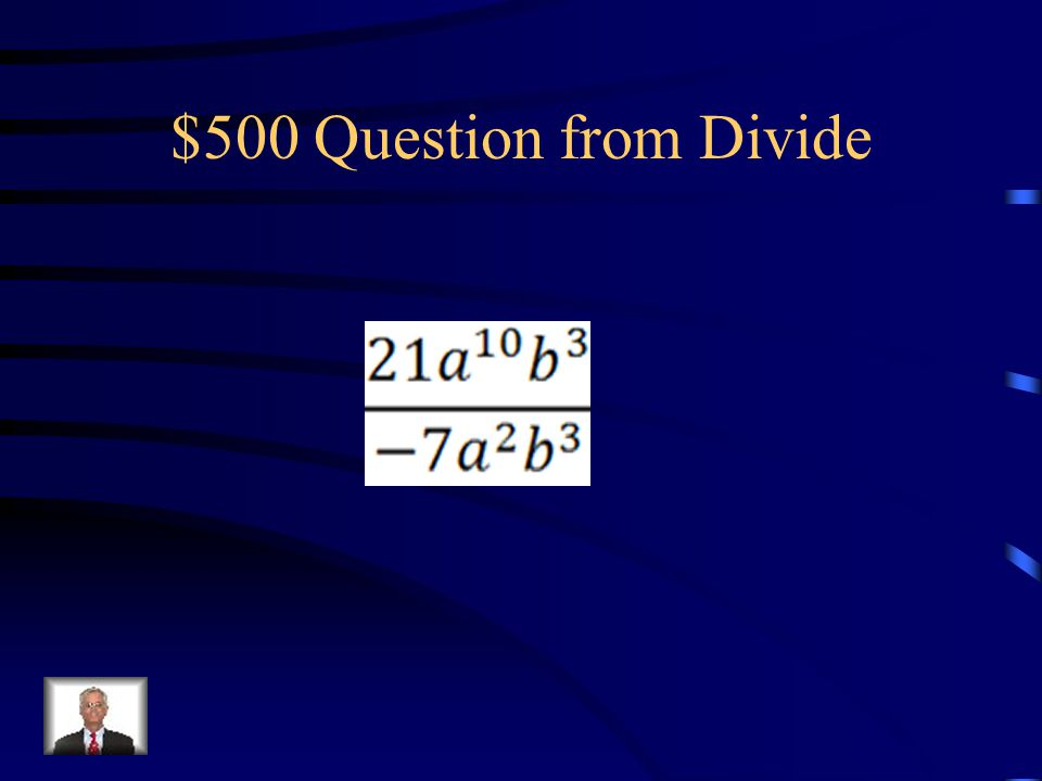 $400 Answer from Divide