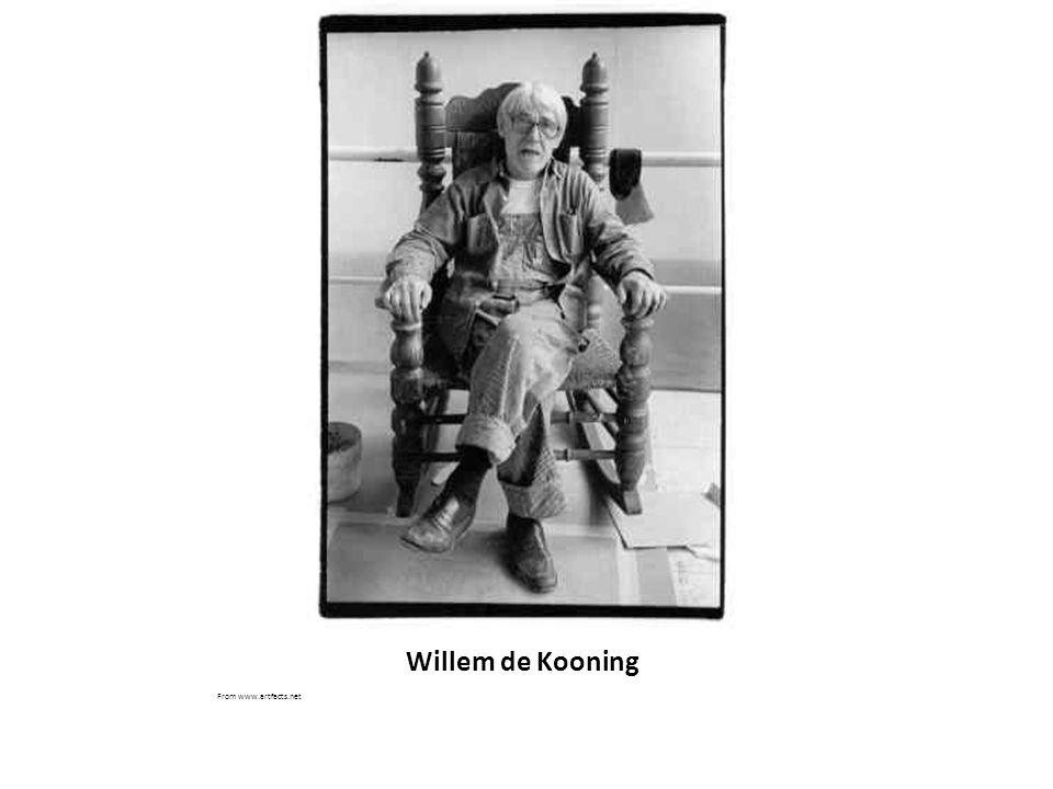 Willem de Kooning From www.artfacts.net