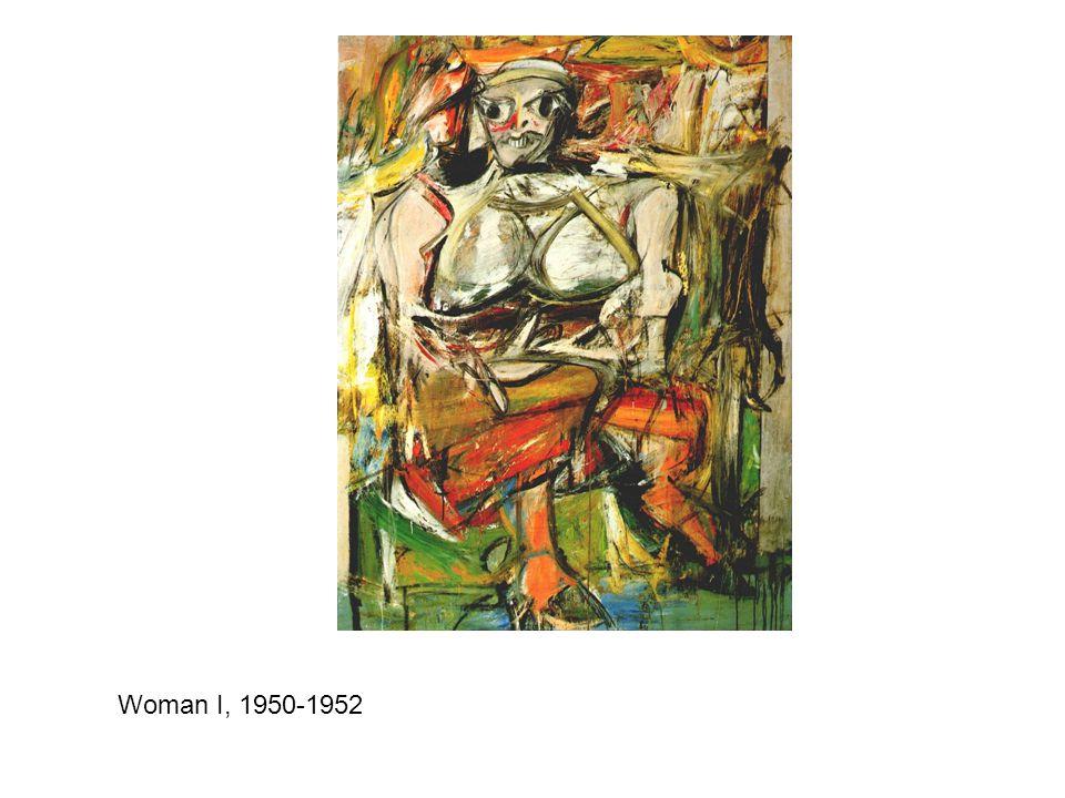 Woman I, 1950-1952