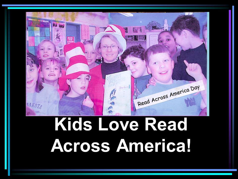 Kids Love Read Across America!