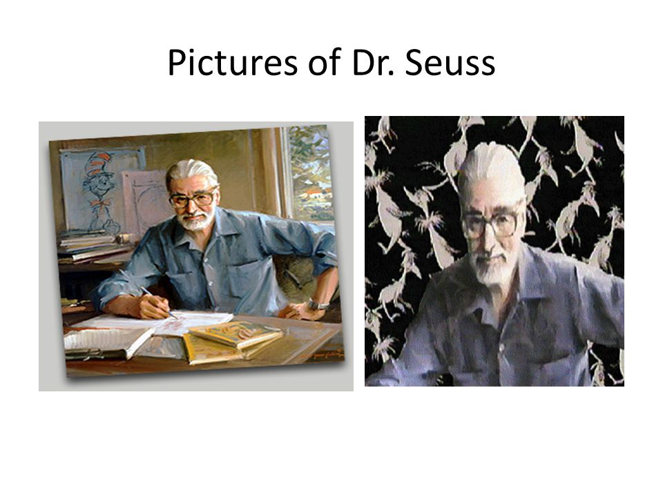 Pictures of Dr. Seuss