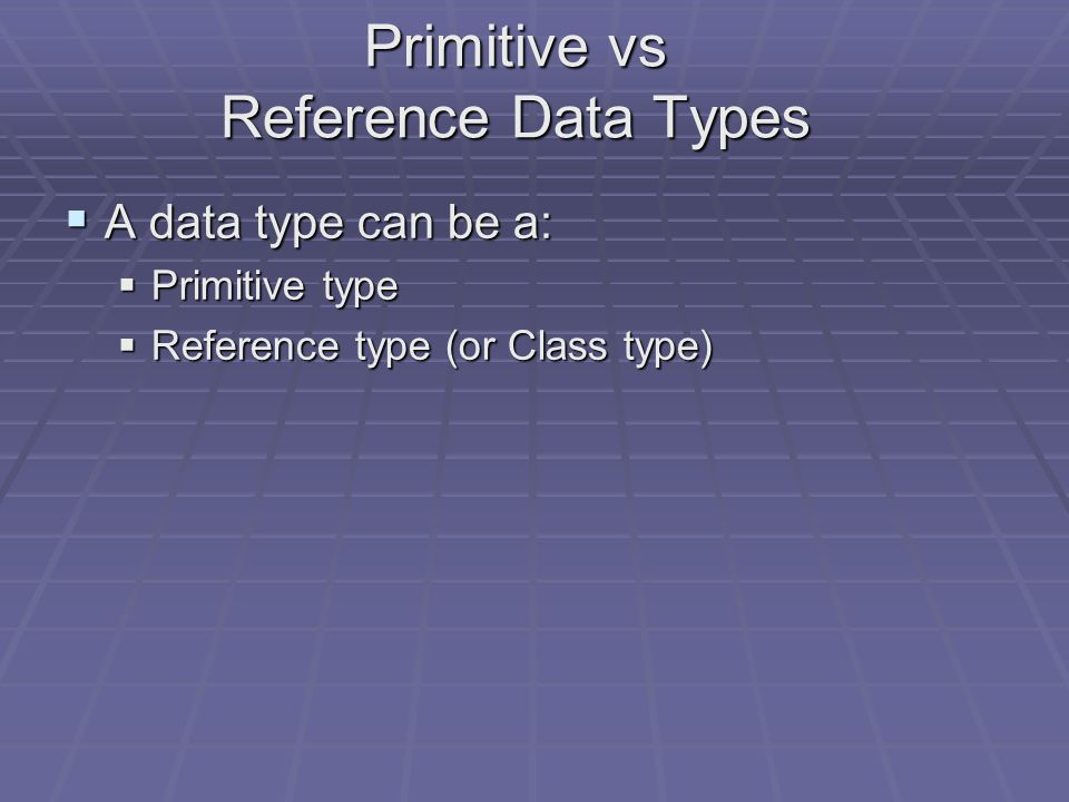 Java Data Types  In order to determine the sizes of storage (boxes) required to hold data, we have to declare the data types of the identifiers used.