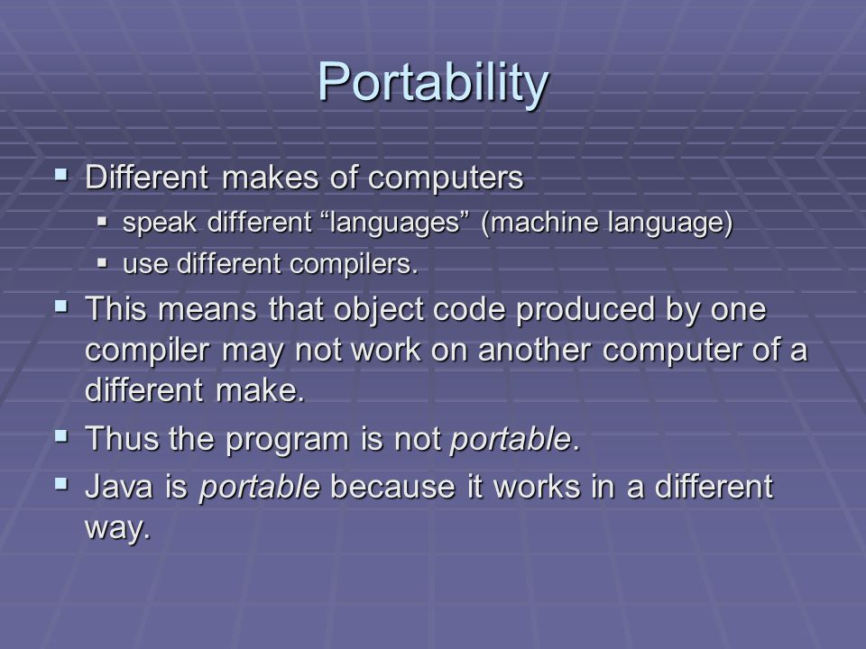 Running a Program  Typically, a program source code has to be compiled into machine language before it can be understood by a computer. programmer vo