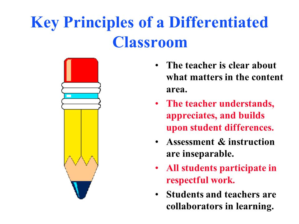 ACTIVITY Use these questions to guide your discussion on the information you will read/view: How does the differentiated classroom differ from the traditional classroom.