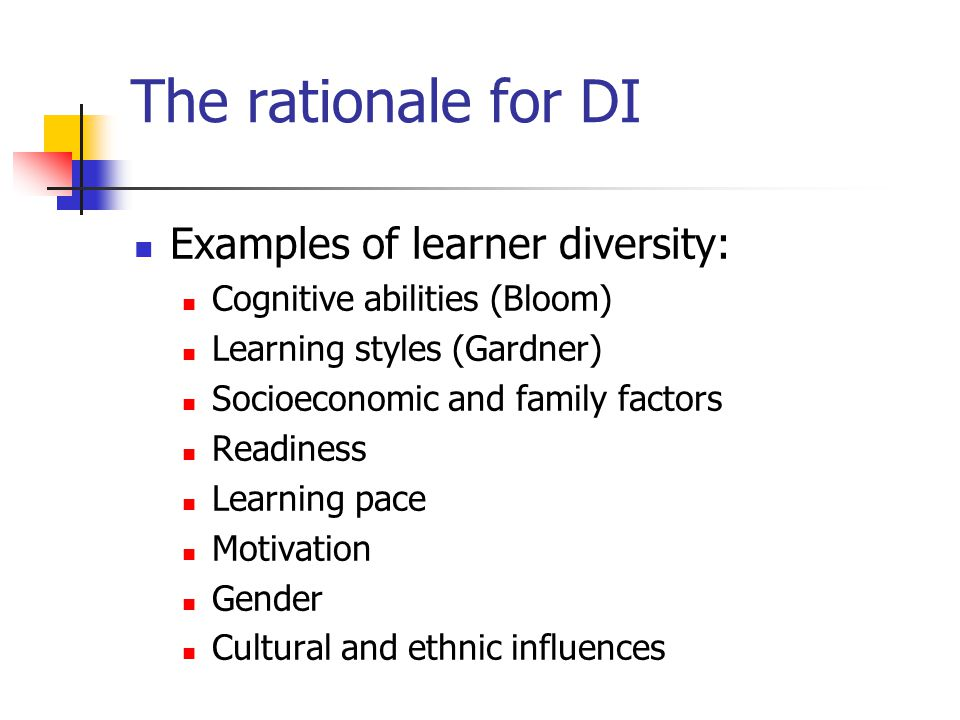 Differentiating Affect Students need to feel they belong to a group and are important to it.