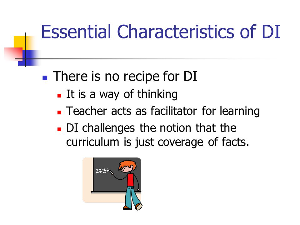 69 Differentiated Instruction IS: Using assessment data to plan instruction and group students Teaching targeted small groups Using flexible grouping (changing group membership based on student progress, interests and needs) Matching instructional materials to student ability Tailoring instruction to address student needs Differentiated Instruction Is NOT: Using only whole class instruction Using small groups that never change Using the same reading text with all students Using the same independent seatwork assignments for the entire class Vaughn Gross Center for Reading and Language Arts, 2005
