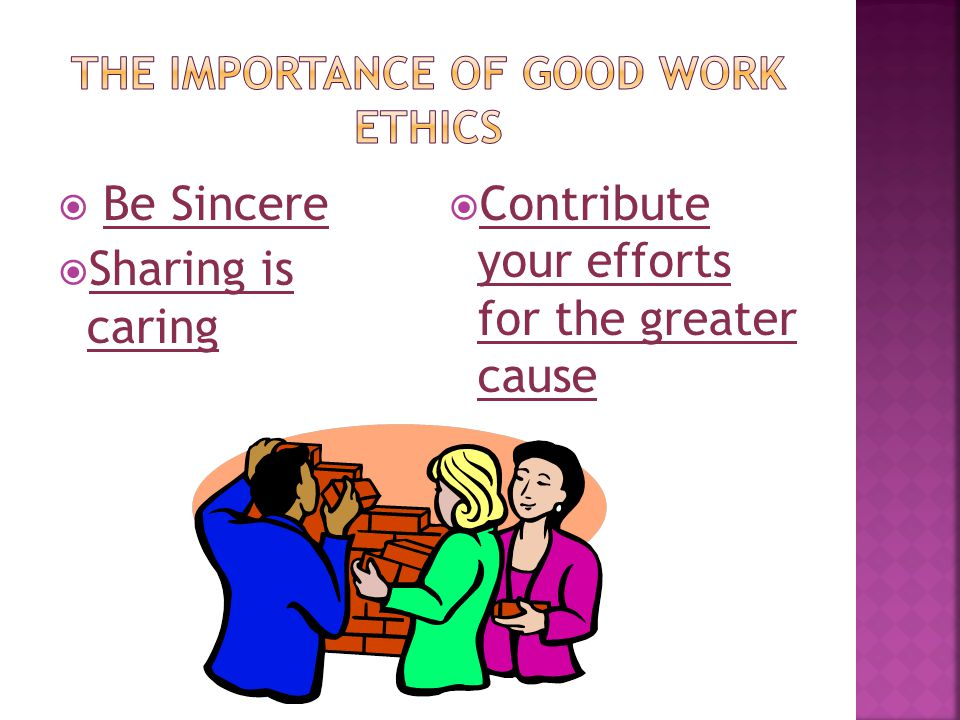  Be Sincere  Sharing is caring  Contribute your efforts for the greater cause