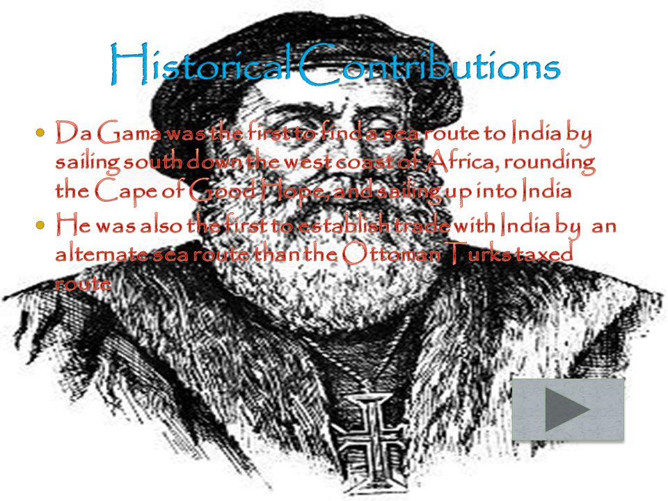 Da Gama returned in 1502 to establish and expand trade there He sailed from Lisbon with a fleet of fifteen ships Da Gama killed many innocent Muslims