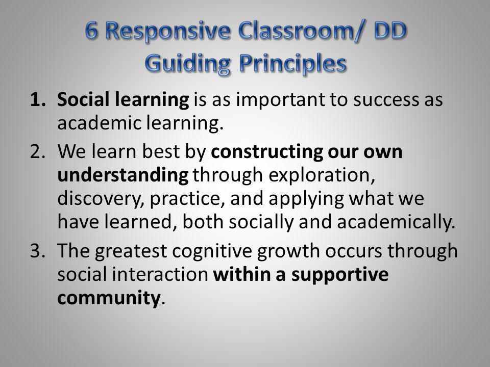 4.There is a set of personal/social skills that students need to learn and practice in order to be successful socially and academically: (CARES) Cooperation Assertion Responsibility Empathy Self-control