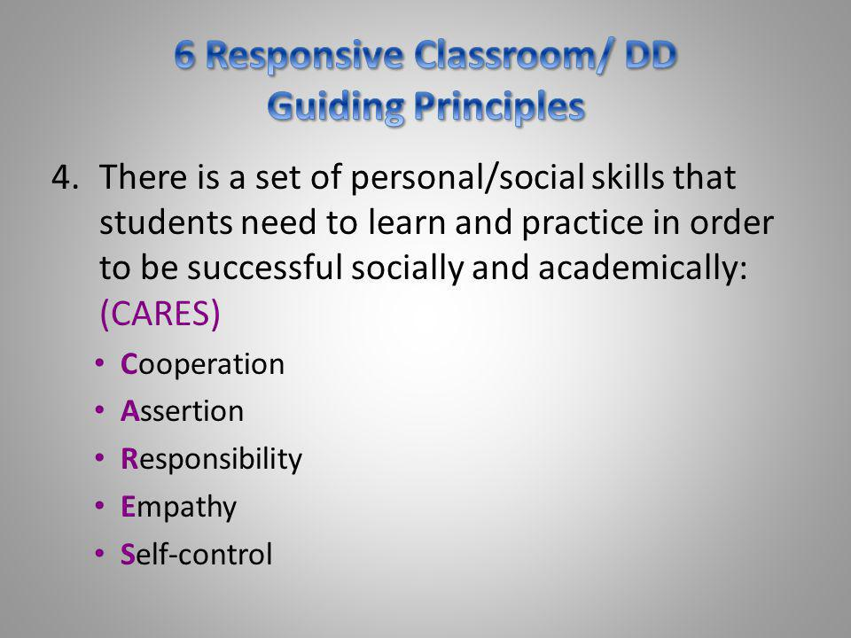 5.Knowing the physical, emotional, social, and intellectual needs of the students we teach is as important as knowing the content we teach.