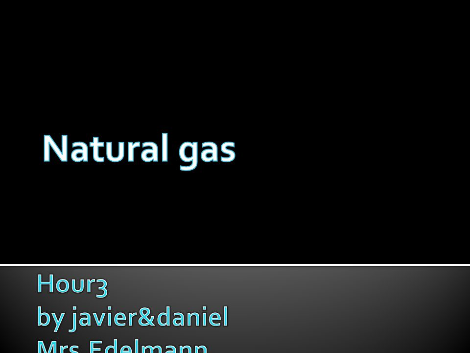  Natural gas is moved by pipelines from the producing fields to consumers.