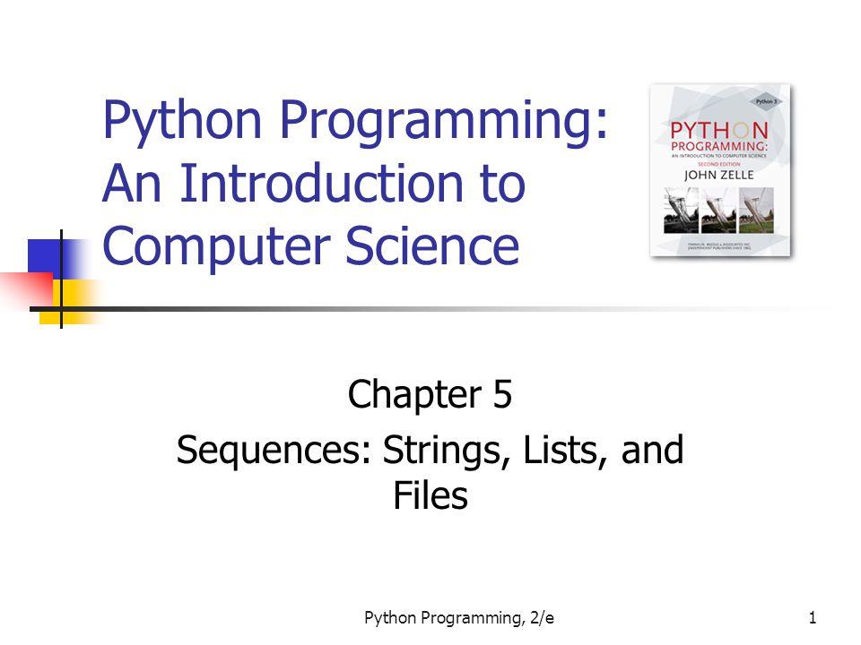 Python Programming, 2/e92 Example Program: Batch Usernames # userfile.py # Program to create a file of usernames in batch mode.