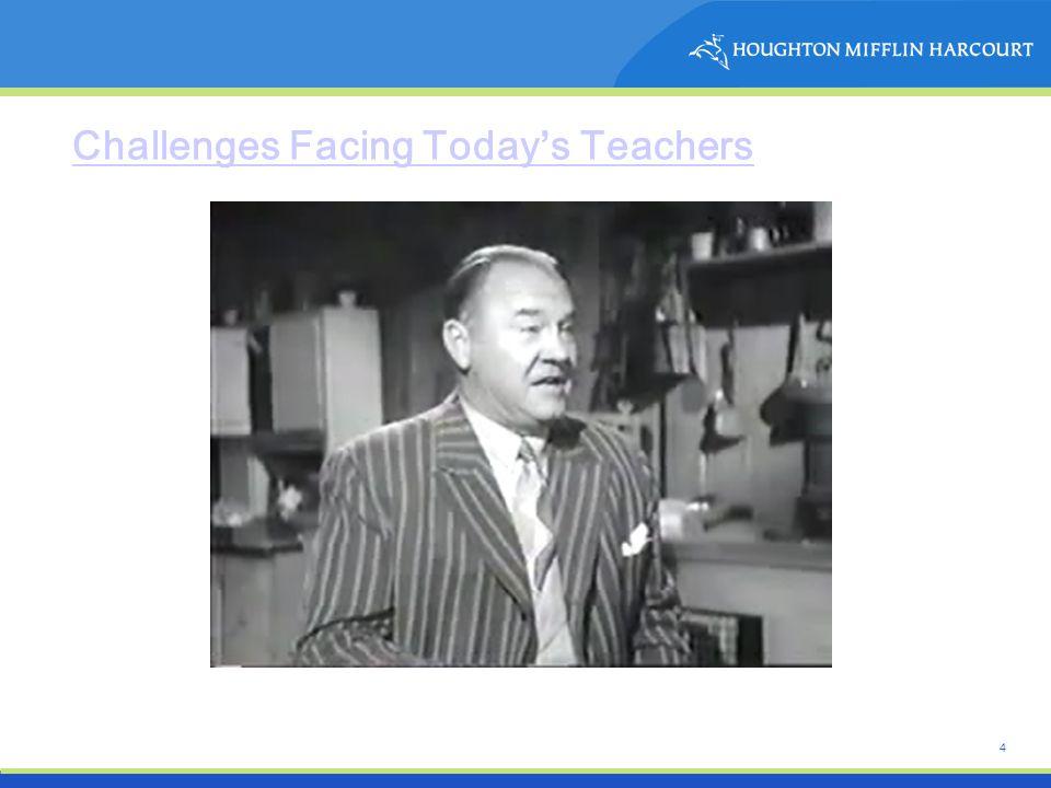 4 Challenges Facing Today's Teachers